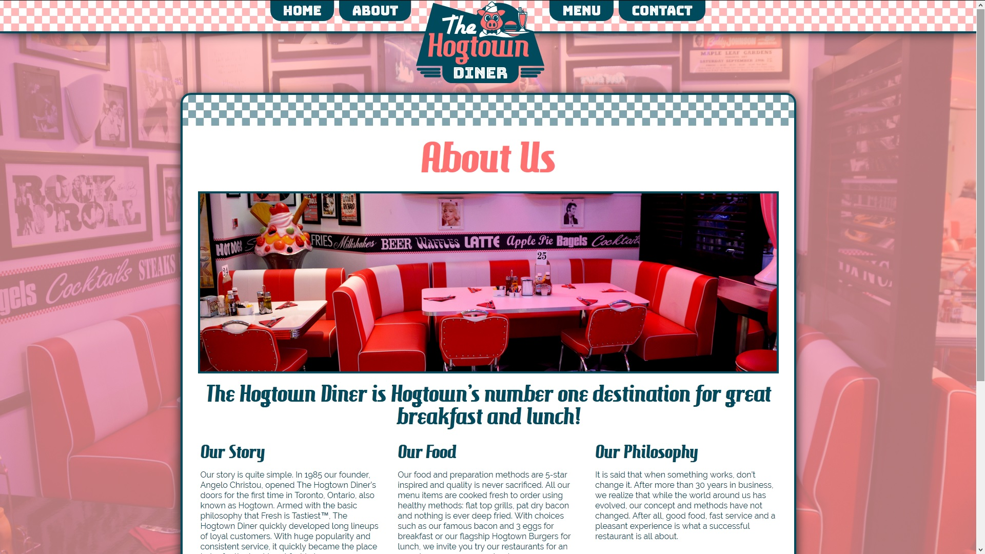 The Hogtown Diner