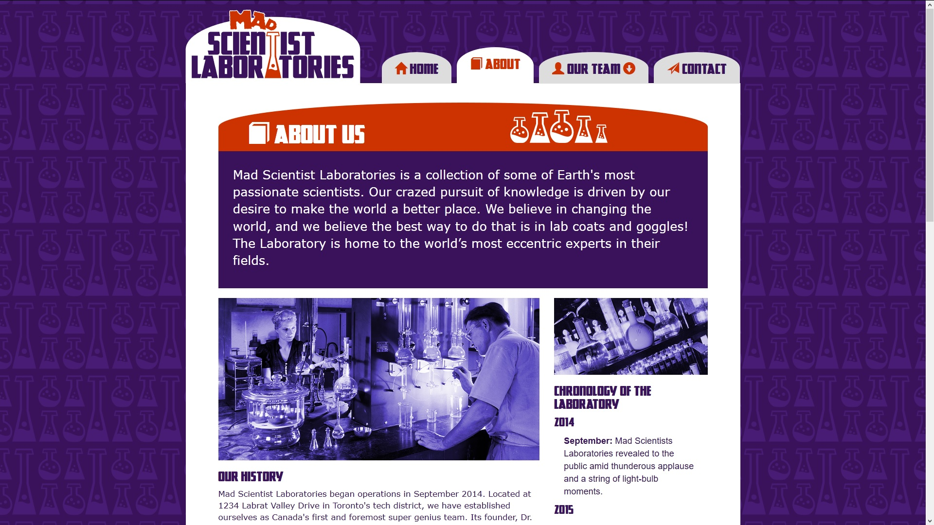 Mad Scientists Laboratories