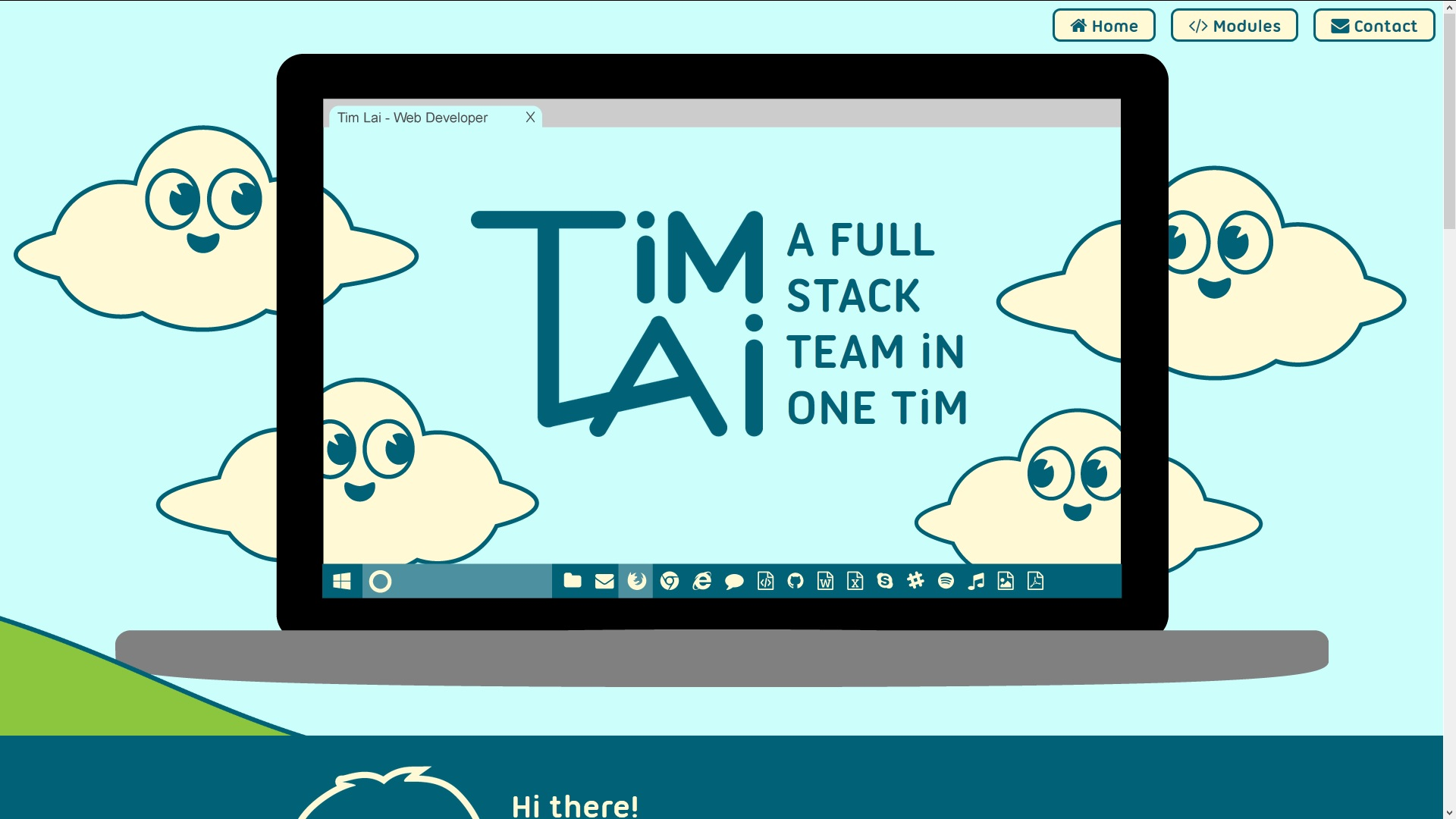 Tim Lai - Web Developer Portfolio